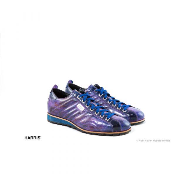 Harris paarse rundleren schoen