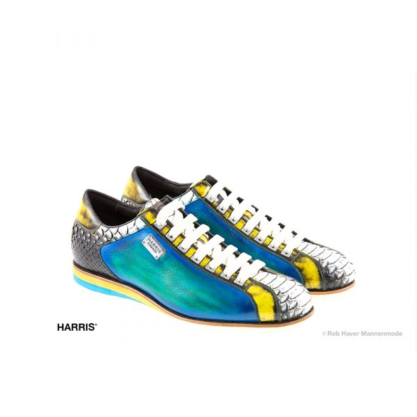 Harris, rundleren Multi color schoen