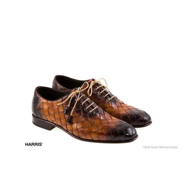 Harris gevlochten rundleer, Bruin