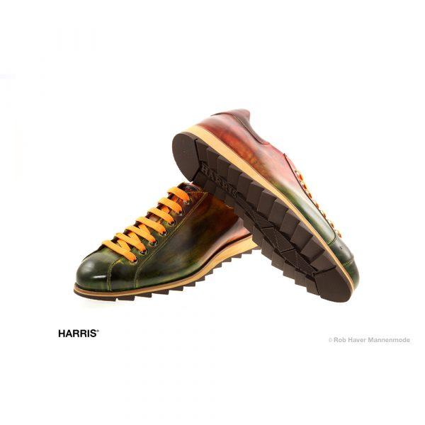 Harris sneakers Vegas green-red